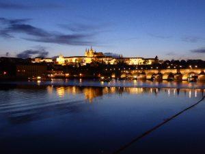 Château de Prague et pont Charles